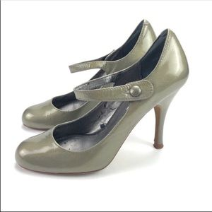 Paolo Linea Vintage Pin Up Heels Green 5